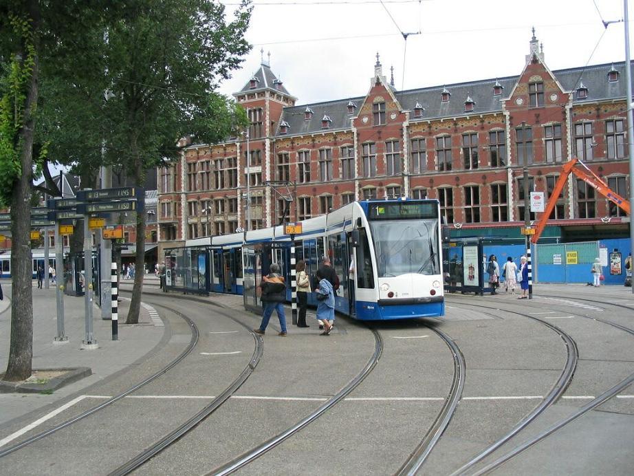 Mappa dei tram ad amsterdam wroc awski informator for Alloggi ad amsterdam