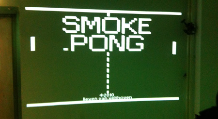 Smoke Pong