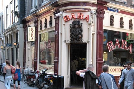 Il Baba, uno dei Coffee Shop piu' famosi di Amsterdam