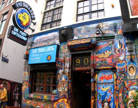 Il Bulldog, uno dei primi Coffee Shop di Amsterdam